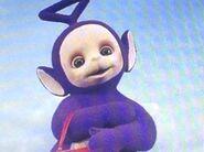 Tinky Winky as Harold the Seahorse