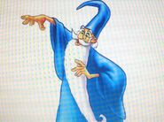 Merlin as King Triton