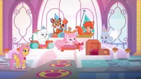 """""""أغنية البداية"""" - قصر الحيوانات الأليفة"""