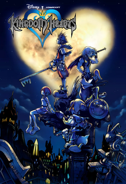 Kingdom Hearts North American Poster