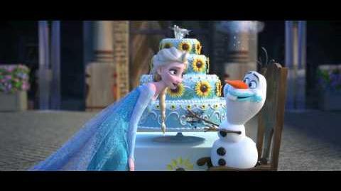 إعلان فيلم Frozen Fever القصير