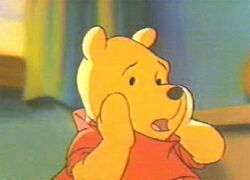 Cartoon stars winnie