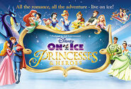 Princesas & Heros Poster