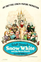 Snow White and the Seven Dwarfs Original Poster