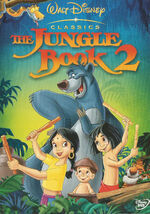 The Jungle Book 2 Stallions Home Video DVD Arabic Cover