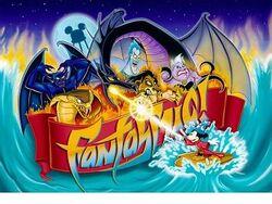 Fantasmic! logo