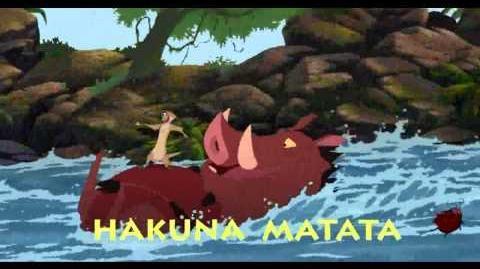 """""""هاكونا ماتاتا"""" - الأسد الملك ٣ هاكونا ماتاتا"""