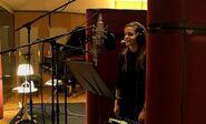 Emma Watson in the Recording Studio