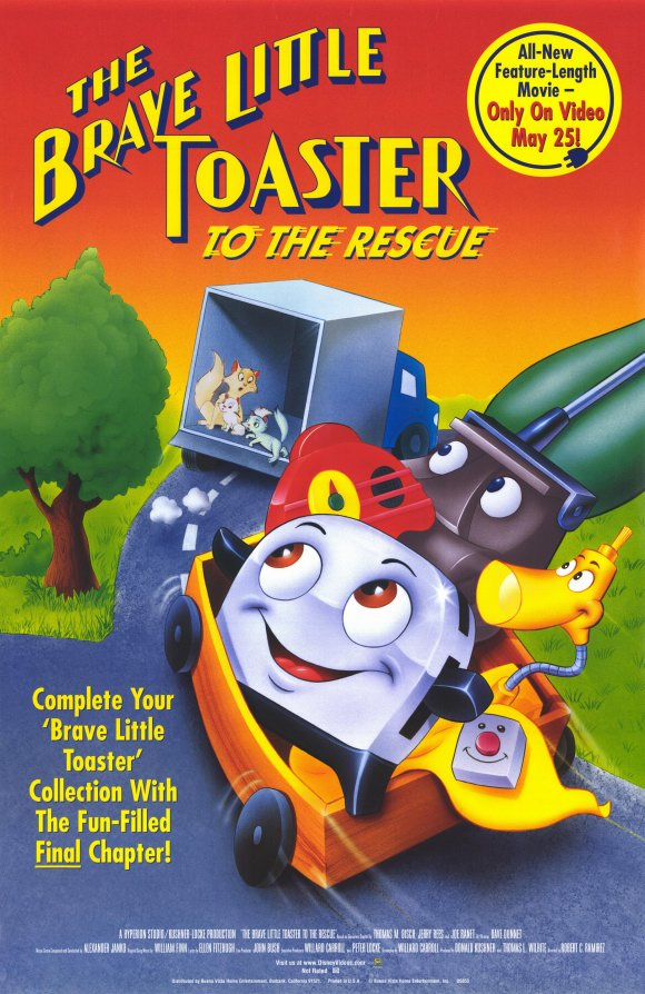 The Brave Little Toaster To the Rescue | Toon Disney