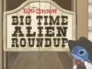 Lilo & Stitch Big Time Alien Roundup