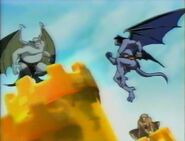 Gargoyles in Magical World of Toons intro