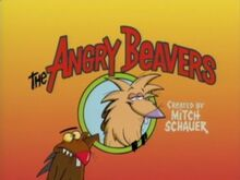 The Angry Beavers title card