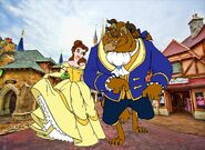 Belle and Beast goes to Walt Disney World Pictures 03
