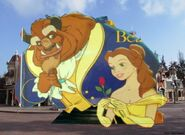 Belle and Beast Goes to Disneyland Paris Pictures 07