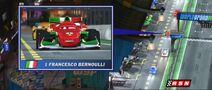 Francesco Bernoulli in broadcast