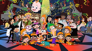 Phineas and Ferb characters