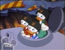 Toon Disney Airing Quack Pack (2004)