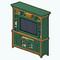 GreenAddictDecor - Green TV Console