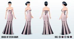 FrankenspreeSpin - Bride of Stein Gown