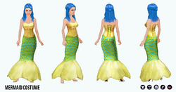 HalloweenHaunt - Mermaid Costume