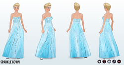IcePrincessClothing - Sparkle Gown