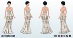 Kwanzaa - Glittering Gown
