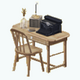 Nanowrimo - Antique Writers Desk