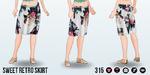 RetroSummerSpin - Sweet Retro Skirt