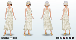 JazzAgeLawnParty - Lawn Party Frock