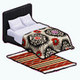 DestinationMexicoSpin - Embroidered Bed and Rug