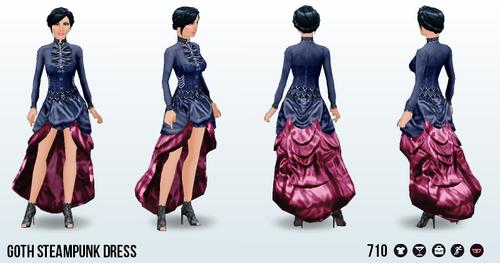 GothicSteampunk - Goth Steampunk Dress