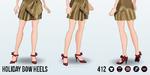 HollyDaysSpin - Holiday Bow Heels