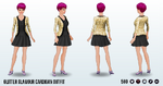 GlitterPhoneMystery - Glitter Glamour Cardigan Outfit