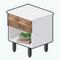 JuniperAndSpruceDecor - Rustic Plank Nightstand