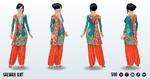 MusicOfIndia - Salwar Suit