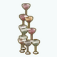 NewYearsEve - Champagne Tower