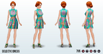 PackRatDay - Eclectic Dress