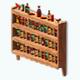 ChickenWingsFestival - Hot Sauce Shelf