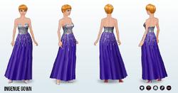 SilverScreen - Ingenue Gown