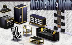 BannerDecor - ModerneNoir