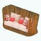 FilipinoCulturalExpo - Rattan Designer Couch