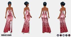 EscapeToVegas - Mirage Gown