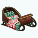 HolidayFunSpin - Sleigh Bed
