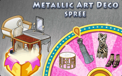 BannerSpinner - MetallicArtDeco