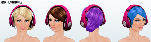 DitchYourResolutionsDay - Pink Headphones