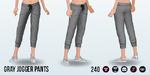 LazySundaySpin - Gray Jogger Pants