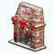 ChristmasDecor - Fireplace and Stockings