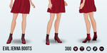 Doppelgangers - Evil Jenna Boots