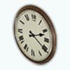 SchoolhouseOfficeDecor - Office Wooden Clock