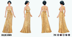 YourYearToSparkle - Goldie Gown